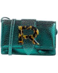 Rochas Cross-body Bag - Green