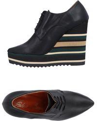 Paloma Barceló Lace-up Shoe - Black