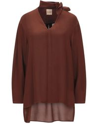 Nude Blouse - Brown