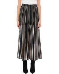 VIKI-AND 3/4 Length Skirt - Black