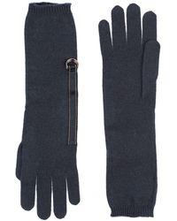 Brunello Cucinelli Gloves - Blue
