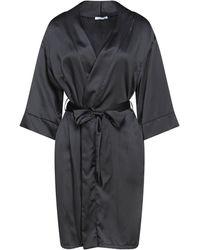 Verdissima Dressing Gown - Black