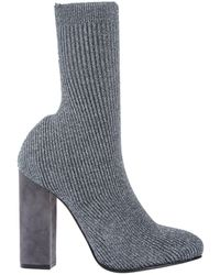 Le Silla Ankle Boots - Gray