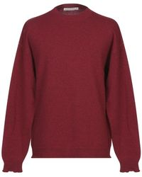 Covert Pullover - Rosso