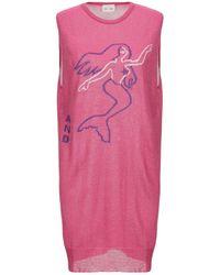 VIKI-AND Short Dress - Pink