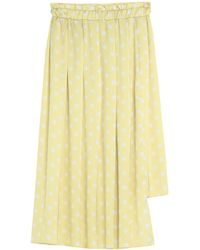 Souvenir Clubbing 3/4 Length Skirt - Yellow