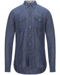 Aquascutum Camisa - Azul