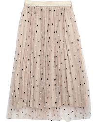 No Secrets 3/4 Length Skirt - Natural