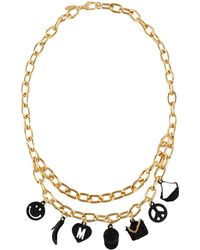 Moschino - Necklaces - Lyst