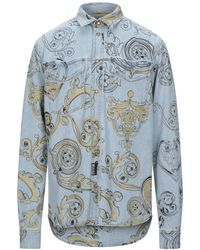Versace Jeans Couture - Camicia jeans - Lyst