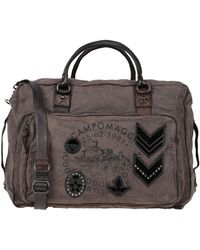 Campomaggi Travel & Duffel Bag - Black