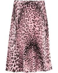 Roberto Cavalli Knee Length Skirt - Pink