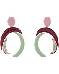 Emilio Pucci Boucles d'oreilles - Multicolore
