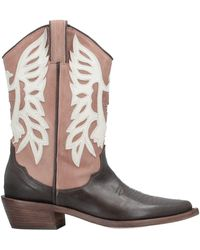 P.A.R.O.S.H. Ankle Boots - Brown