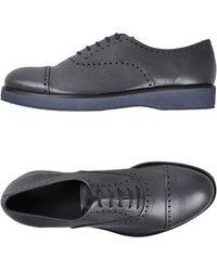 Giorgio Armani Lace-up Shoe - Blue