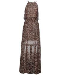 Black Coral - Long Dress - Lyst