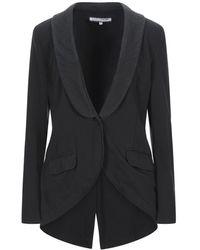 European Culture Suit Jacket - Black