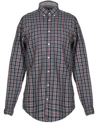 1ae98a948fe5 Lyst - Tommy Hilfiger Brian Plaid Shirt in Red for Men