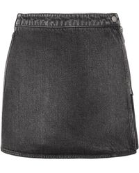 Givenchy Jupe en jean - Noir