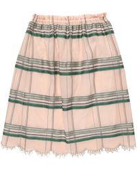 Purotatto Midi Skirt - Natural