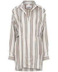 Jil Sander Short Dress - Grey