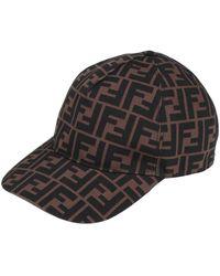 Fendi Hat - Brown