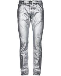 Just Cavalli Denim Trousers - Metallic