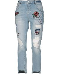 Superdry Denim Capris - Blue