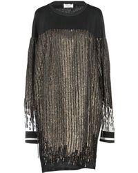 Aviu Short Dress - Black