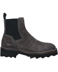 Barracuda Ankle Boots - Grey