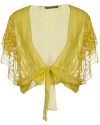 Alberta Ferretti Shrug - Yellow