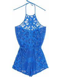Miguelina Beach Dress - Blue
