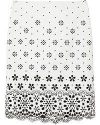 Marc Jacobs Jupe midi - Blanc