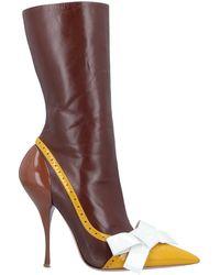 Miu Miu Ankle Boots - Brown
