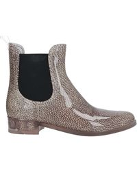 Borbonese Ankle Boots - Natural