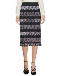 CafeNoir - 3/4 Length Skirts - Lyst