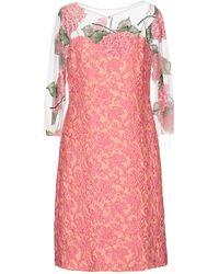 Maria Grazia Severi Short Dress - Pink