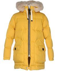 COACH Down Jacket - Yellow