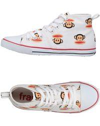 Paul Frank High Sneakers & Tennisschuhe - Weiß