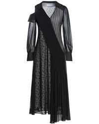 ADEAM Midi Dress - Black