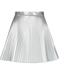 Dondup Mini Skirt - Metallic