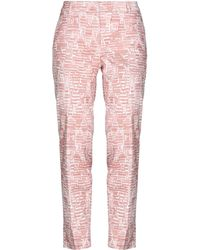 Peserico Casual Trousers - Pink