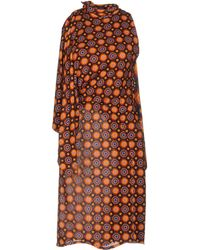 Givenchy Knee-length Dress - Orange