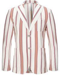 Alessandro Dell'acqua Suit Jacket - White