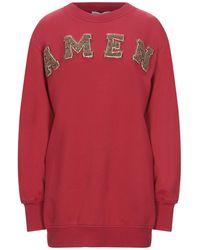 Amen Sweat-shirt - Rouge