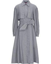 Ottod'Ame Overcoat - Grey