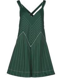 Valentino Robe courte - Vert
