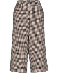 Vila Cropped Trousers - Multicolour
