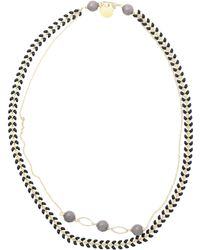 First People First Collier - Gris