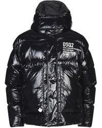 DSquared² Down Jacket - Black